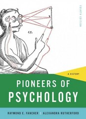 Pioneers of Psychology 4th Edition 9780393935301 0393935302
