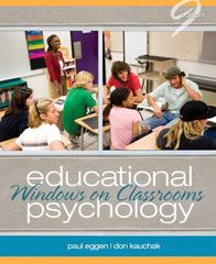 Educational Psychology 9th edition 9780132610216 0132610213
