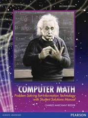 Computer Math 2nd Edition 9780558813741 0558813747