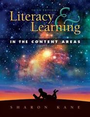 Literacy & Learning in the Content Areas 3rd Edition 9781934432068 1934432067