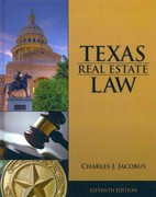 Texas Real Estate Law 11th Edition 9781133435075 1133435076