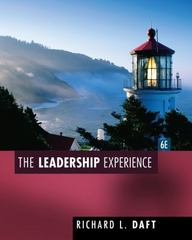 The Leadership Experience 6th Edition 9781435462854 1435462858