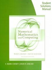 numerical mathematics and computing 7th edition solution manual pdf