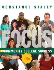FOCUS on Community College Success 3rd edition 9781133316466 1133316468