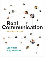 Real Communication 1st edition 9780312248482 0312248482