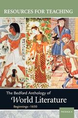 The Bedford Anthology of World Literature 0 9780312402686 0312402686