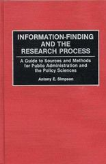 Information-Finding and the Research Process 0 9780313252518 0313252513