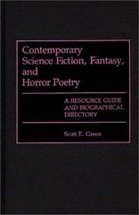 Contemporary Science Fiction, Fantasy, and Horror Poetry 0 9780313263248 0313263248