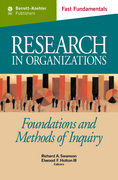 Research in Organizations c.21 0 9781605094724 1605094722