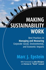Making Sustainability Work 2nd Edition 9781609949945 1609949943