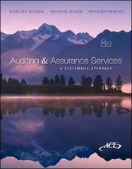 Auditing & Assurance Services w/ACL Software CD-ROM 8th Edition 9780077520151 0077520157