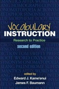 Vocabulary Instruction 2nd Edition 9781462503971 1462503977