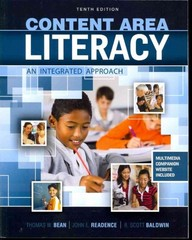 Content Area Literacy 10th Edition 9780757588914 0757588913