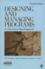 Designing and Managing Programs 4th Edition 9781412995160 1412995167