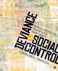 Deviance and Social Control 0 9781412973779 1412973775