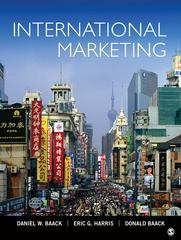 International Marketing 1st Edition 9781452226354 1452226350