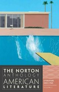 The Norton Anthology of American Literature 8th edition 9780393934809 0393934802