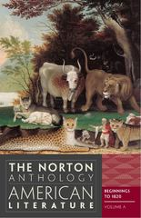 The Norton Anthology of American Literature 8th edition 9780393934762 0393934764