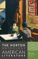 The Norton Anthology of American Literature 8th edition 9780393934793 0393934799