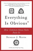 Everything Is Obvious 1st Edition 9780307951793 0307951790