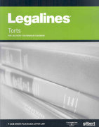 Legalines on Torts 8th edition 9780314181183 0314181180