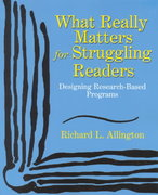 What Really Matters for Struggling Readers 0 9780321063960 0321063961