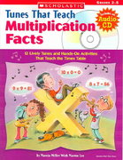 Tunes That Teach Multiplication Facts 0 9780439671620 0439671620