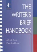 The Writer's Brief Handbook 4th edition 9780321089311 0321089316