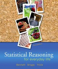 Statistical Reasoning for Everyday Life 3rd edition 9780321286727 0321286723