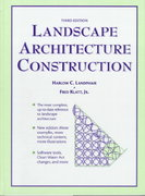 Landscape Architecture Construction 3rd Edition 9780132549479 0132549476