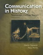 Communication in History 3rd Edition 9780801331336 0801331331