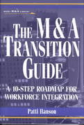 The M&A Transition Guide 1st edition 9780471395195 0471395196