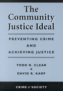 The Community Justice Ideal 0 9780813367668 0813367662