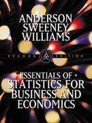Essentials of Statistics for Business and Economics 2nd edition 9780324003284 0324003285