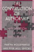 The Construction of Authorship 0 9780822314127 0822314126