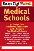 Essays that Worked for Medical Schools 0 9780345450449 0345450442