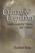 Culture and Cognition 1st Edition 9780761929079 076192907X