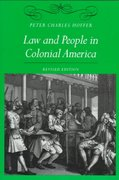 Law and People in Colonial America 2nd Edition 9780801858161 080185816X