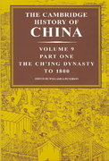 The Cambridge History of China 0 9780521243346 0521243343