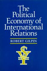 The Political Economy of International Relations 1st Edition 9780691022628 0691022623