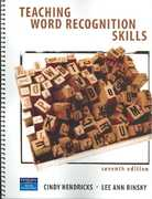 Teaching Word Recognition Skills 7th Edition 9780131195974 0131195972