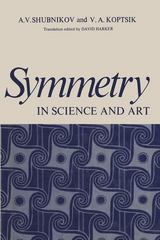Symmetry In Science and Art 1st edition 9780306307591 0306307596