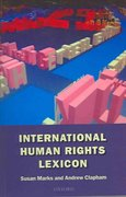 International Human Rights Lexicon 1st Edition 9780198764137 0198764138