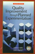 Quality Improvement Through Planned Experimentation 2nd edition 9780079137814 0079137814