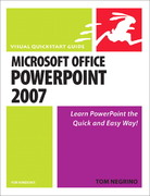 Microsoft Office PowerPoint 2007 for Windows 1st edition 9780321498403 0321498402
