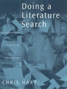 Doing a Literature Search 1st edition 9780761968108 0761968105