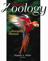 General Zoology Laboratory Manual to accompany Zoology 6th edition 9780072528374 0072528370