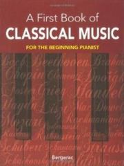 My First Book of Classical Music 0 9780486410920 0486410927