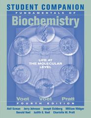Student Companion to Accompany Fundamentals of Biochemistry 4th Edition 9781118218273 1118218272
