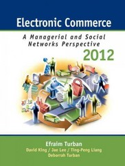Electronic Commerce 2012 7th edition 9780132145381 0132145383